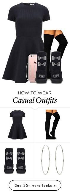"""""""Casual"""" by alexanderbianca on Polyvore featuring Opening Ceremony, Accessorize and UGG Australia"""