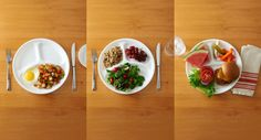 How to Create a Balanced Plate - quick rundown and some easy ways to achieve the right ratio for more healthful and nutritious meals.