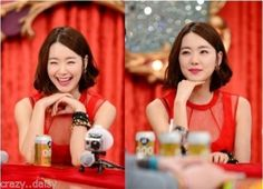 CARVEN-RED-TAFFETA-LACE-OVERLAY-MESH-PROM-DRESS-FLARED-SKIRT-COCKTAIL-PARTY So Yi Hyun in 'Hwashin' Episode 4