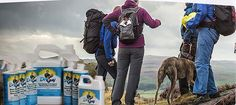 Waterproof spray for hiking and camping gear