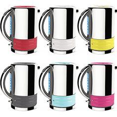 DUALIT Architect kettle with interchangable colour panels