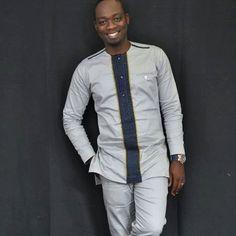 African shirt African clothing African men& wear by AnkaraBowTies African Shirts For Men, African Dresses Men, African Clothing For Men, African Men Fashion, African Attire, African Wear, Dashiki For Men, African Dashiki, Ankara