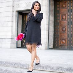 LovePlayingDressup, 1802 boutique, little black dress, peonies, bcbg pumps - valentino similar, prada clutch, petite, ootd, most pinned photo, instagram, indian blogger, boston, museum of fine arts, smile, date night inspiration, love, black dress, lace dress