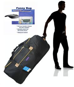 BoardingBlue Airlines Rolling Travel-to-Cuba Duffel 62'   fanny bag ** Learn more by visiting the image link. (This is an Amazon Affiliate link and I receive a commission for the sales)