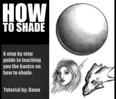 How to Shade, Step by Step, Shading, Drawing Technique, FREE Online Drawing Tutorial, Added by Dawn, October 8, 2009, 7:13:50 pm