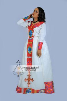seble Burgundy habesha traditional dress – Mukash Fashion When Giving Perfume As Gifts A favorite gi Short African Dresses, African Print Dresses, African Print Fashion, Africa Fashion, Ethiopian Traditional Dress, African Traditional Dresses, Traditional Outfits, Street Hijab Fashion, Punk Fashion