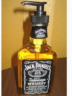 Gel de mãos garrafa de wisky