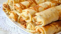 Tasty Belarusian cuisine is sure to please everyone. We will tell you about ten great belarusian dishes that you want to try! Crepes, Gourmet Recipes, Snack Recipes, Pancake Roll, Pancake Party, Ukrainian Recipes, Raw Vegetables, Homemade Taco Seasoning, Breakfast Time
