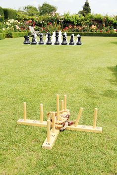 lawn games! I am actually planning on not having dancing at my wedding, I know, I'm crazy. :)