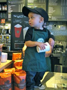 """""""Say that again, please. Decaf double tall non-fat extra-dry cappuccino with what?"""""""