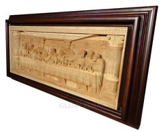 Art Wall Decor Hand Carved Relief