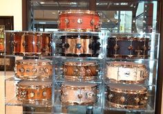 DW Drums. I want this collection!
