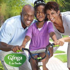 Bom dia Família Ginga!  Já têm programa para hoje? Que tal um passeio de bicicleta pela marginal?! :)  Ginga – a marca da família angolana