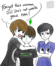 Dan and Phil are so overprotective of their son- it's beautiful. They would make great parents  Maybe separately... Or together? Who knows!
