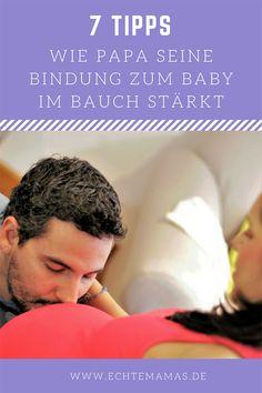 Eigentlich fängt es schon an, wenn eine Frau erfährt, dass sie schwanger ist. Spürt sie dann das erste Mal ihr Baby im Bauch, ist es komplett um sie geschehen. Werdende Mamas bauen eine tiefe Bindung zu dem Kind auf, das sie in ihrem Bauch tragen – mehr Nähe geht eben nicht. Aber wie schaut es mit dem Papa aus? 7 Tipps, wie Väter ihre Bindung zum ungeborenen Kind stärken können. Foto: ©Bigstock #schwangerschaft