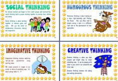 Thinking process ~ posters and ideas from MargD Teaching Posters.