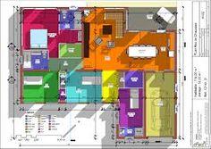58 meilleures images du tableau Plan Maison Plein Pied 4 Chambres | Plan maison plein pied, Plan ...