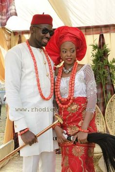 Nigerian Wedding Gorgeous Igbo Traditional Bridal Styles The
