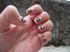 nail art #eyes