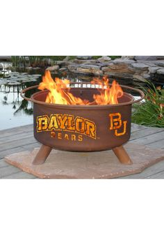 BAYLOR BEARS FIRE PIT