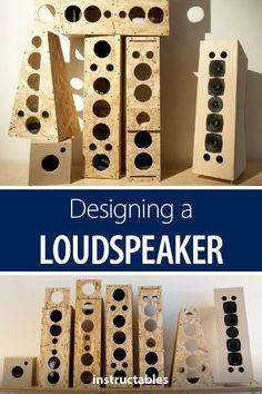 Loudspeaker Design by Trial and Error - Audio Projects - Home Audio Speakers, Best Speakers, Diy Speakers, Built In Speakers, Home Studio, Home Theater Sound System, Speaker Box Design, Speaker Plans, Surround Sound Speakers