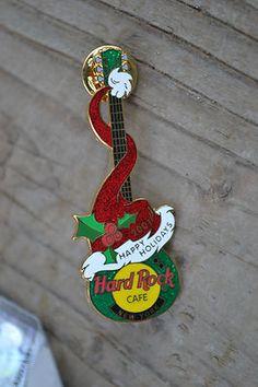 New York Christmas Santa Hat Guitar 2001 #10749