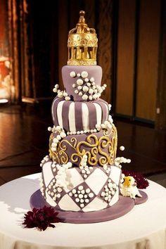 Arabian Themed Wedding Cake
