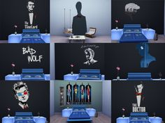 Sims 4 CC's - The Best: Doctor Who Sticker by Schweinsteiger31