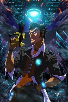 Handsome Jack Borderlands, Borderlands 1, Tales From The Borderlands, Manga Comics, Best Games, Game Art, Comic Art, Hero, Deviantart