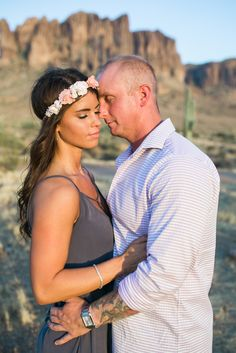 Ashley Freehan PhotographyKristen + Elliott | Lost Dutchman Engagement - Ashley Freehan