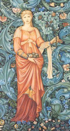 morris burne jones goddess