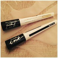 Maybelline Master Ink Glitter and Matte Liner