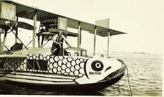 """BIG FISH""  Curtiss H16 Flying Boat"