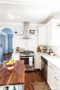 1 Kitchen, 3 Ways: Classic white on white kitchen reveal.