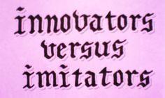 Jason Wong - Friends of Type - Innovate vs Imitate