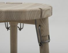 Collapsible Stool using Latch Hinge – Latch Stool - The Great Inspiration for Your Building Design - Home, Building, Furniture and Interior Design Ideas Woodworking Logo, Woodworking Joints, Woodworking Bench, Woodworking Projects, Woodworking Basics, Woodworking Quotes, Woodworking Equipment, Intarsia Woodworking, Woodworking Patterns