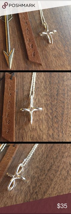 Sterling silver cross cute 925 pendant chain solid Sterling silver, shop with confidence wear your jewelry with distinction Jewelry Necklaces