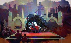 Artes de Sergey Kolesov para o game Dishonored 2 | THECAB - The Concept Art Blog