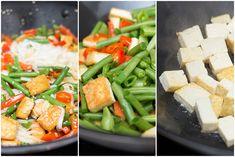 Marias Matglede ♥: Tofu & nudler med crispy grønnsaker, chili og inge...