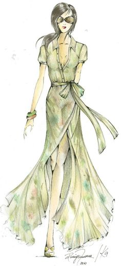 Fashion Sketches | Fashion sketches|Fashion croqui model|Croqui sketches | How to draw ...