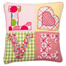 Room Seven kussenhoesjes en kussens voor meisjes worden verkocht door baby- & kinderwinkel S-factory uit Horst aan de Maas. Cushion covers, pillow cases.