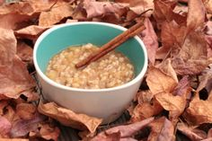 Autumn Honey Apple Barley Breakfast - Barley really does make a fabulous breakfast.... this would be great with non-pearled barley in the crock pot over night