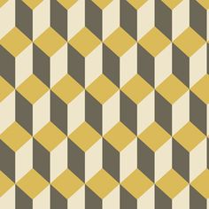 Delano: these geometric wallpaper patterns are great but could be challenging to place, too.