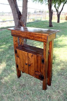 A cute little cabinet I created as an entry way table/cabinet or to use in a small bathroom, kitchen or even to hold your small flat screen TV and game system.