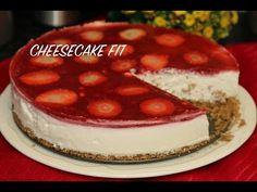 CHEESECAKE FIT/SEM FORNO/RECEITA FÁCIL - YouTube Cheesecake Fit, Cheesecakes, Tiramisu, Low Carb, Diet, Mundo Fashion, Ethnic Recipes, Desserts, Youtube