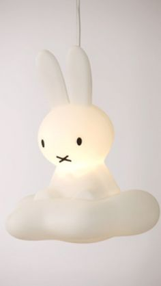 Dutch design only.  Miffy - Nijntje's Dream hanging lamp - Lighting - Collection - things design.  Made in Holland.