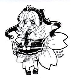 CCS: chibi Sakura by Vestal-Spirit.deviantart.com on @DeviantArt