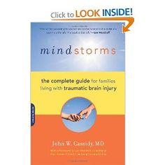 "TIps: ""Mindstorms: Living with Traumatic Brain Injury"". A book detailing daily life with a TBI"