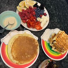 Pancakes or waffles? (Same mix just cooked differently) Waffles, Pancakes, Just Cooking, Saturday Morning, Chocolate Fondue, Breakfast, Desserts, Instagram, Food