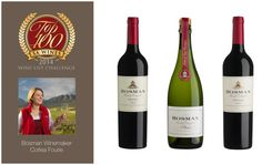 Bosman Family wines on the top 100 wines list